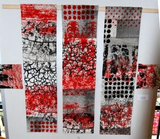Art quilt 6.