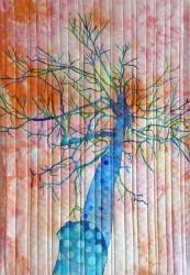 Træ ved Aros 2016 h62,5 b 43,5